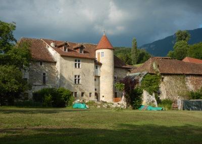 Maison forte des Rubods-privé-Saint Paul sur Yenne-aprés
