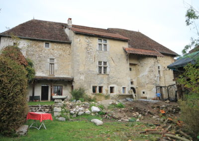 Restauration maison forte Savoie