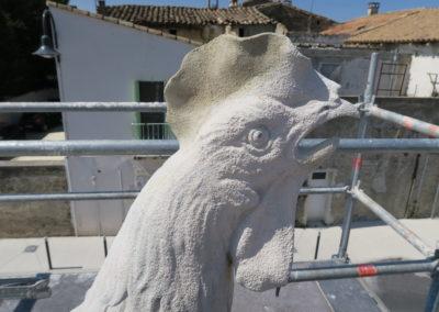 Ragréage et sculpture